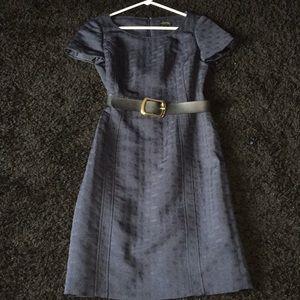 Navy Blue Business Dress